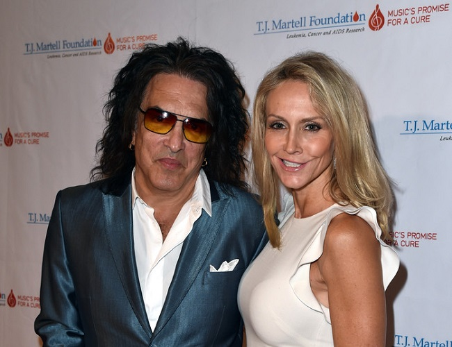 Erin Sutton and Paul Stanley