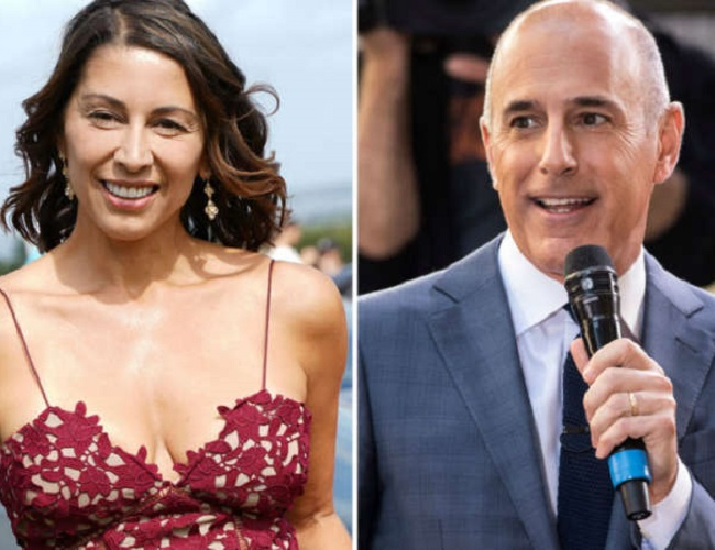 Matt Lauer and Brooke Neville