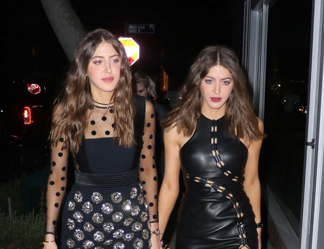 Haya Khadra and her twin sister