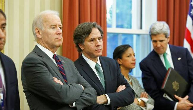 Tony Blinken with President Joe Biden