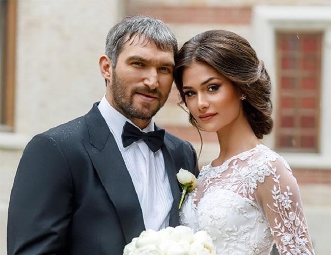 Anastasia Shubskaya and her husband