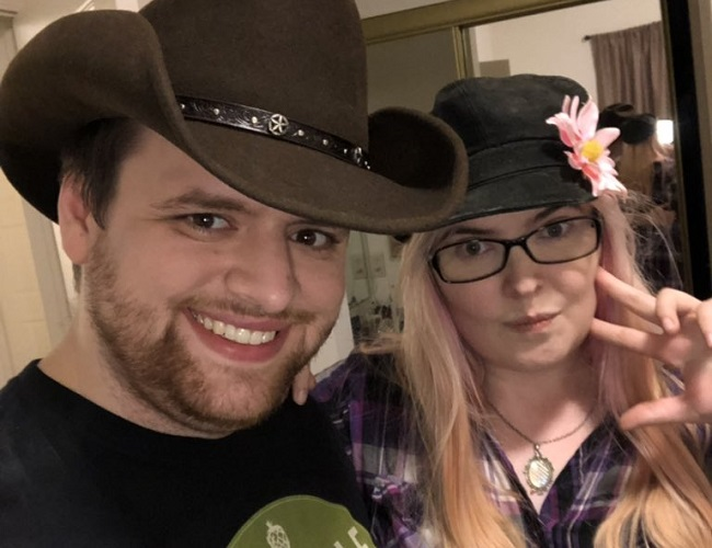 Kestin Howard and his girlfriend