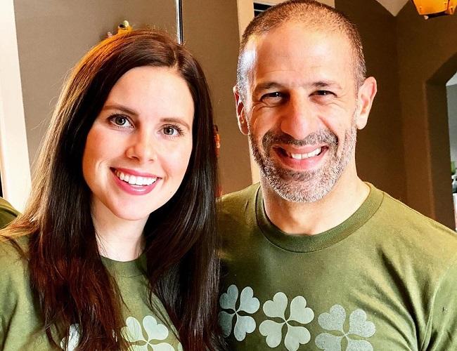 Lauren Bohlander and her husband