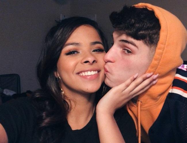Nick Mara and his ex-girlfriend