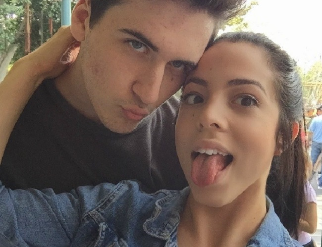 Danielley Ayala and her boyfriend, Peter