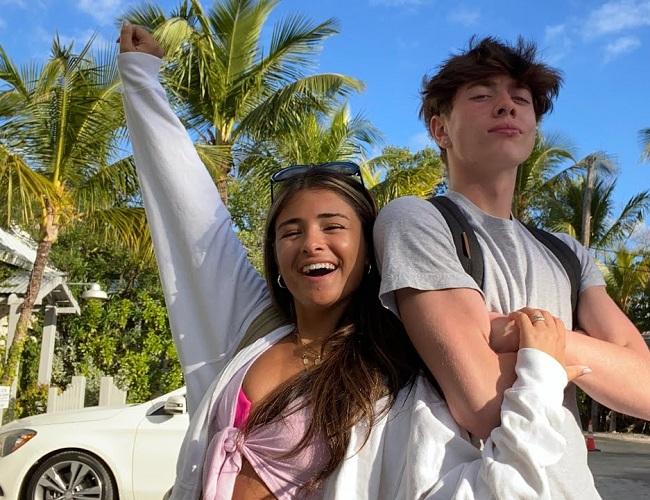 Gabriellannalisa and her boyfriend