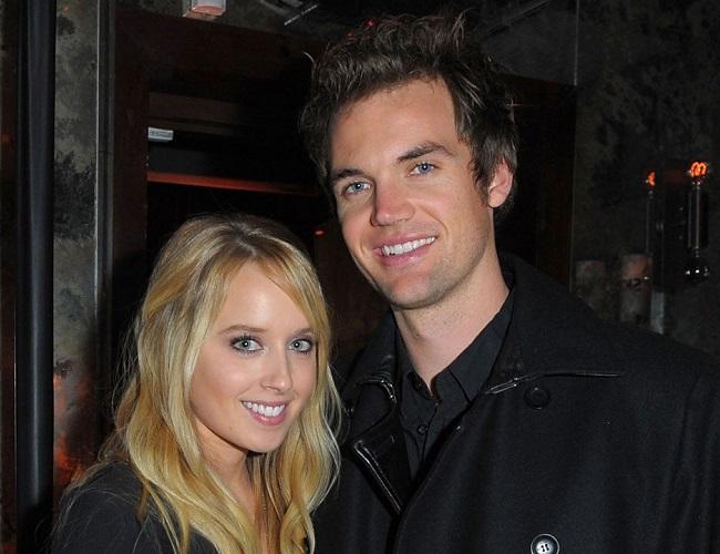 Megan Park and her husband
