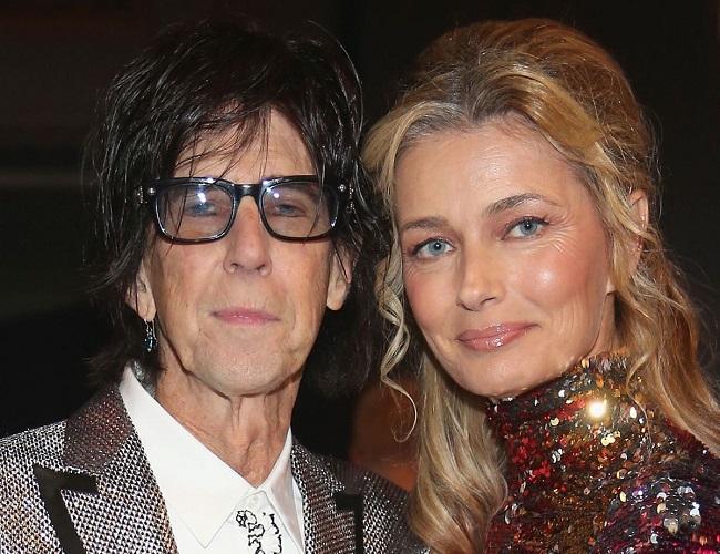 Paulina Porizkova and her ex-husband