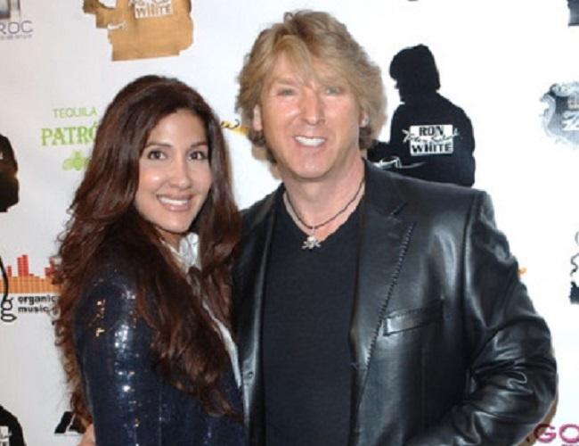 Sasha Blakey and her husband
