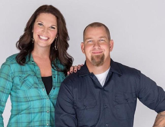 Brandon Hatmaker and his wife