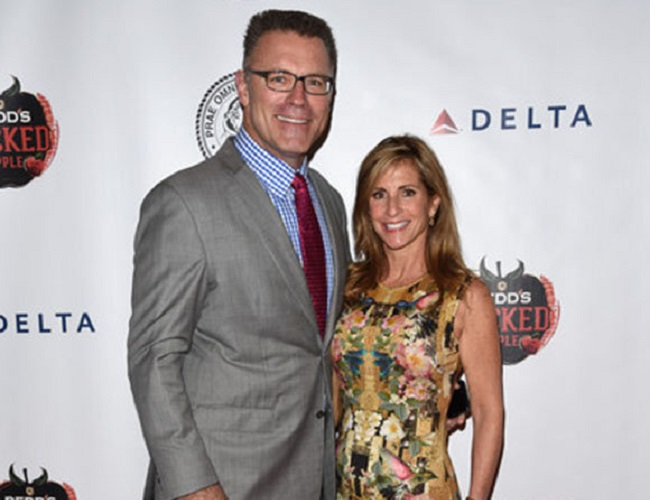 Diane Addonizio and her husband