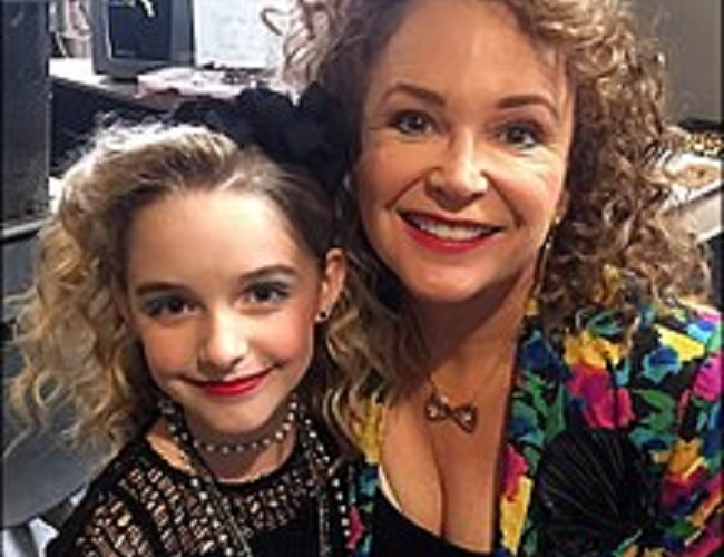 Gail Edwards and her daughter
