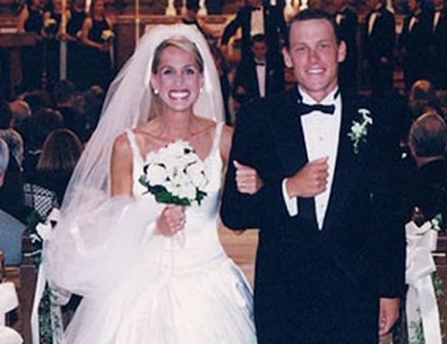 Kristin Richard and Lance Armstrong