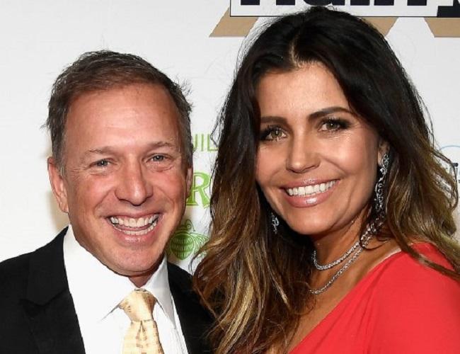 Mindy Burbano and her husband