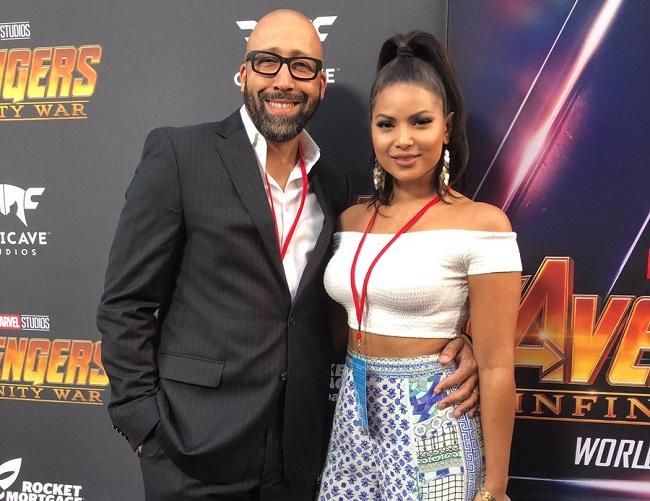 Natasha Sen and her husband