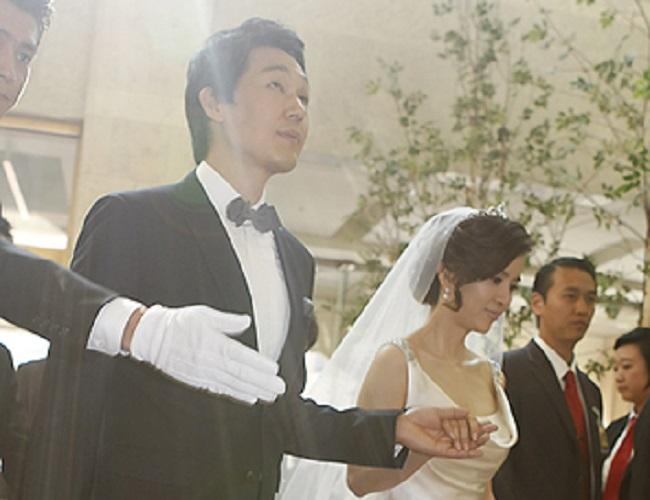 Park Eun Bin and her husband
