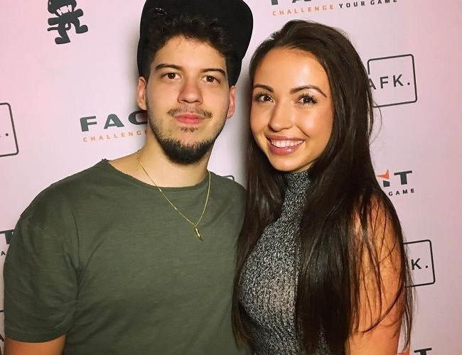 TypicalGamer and his girlfriend
